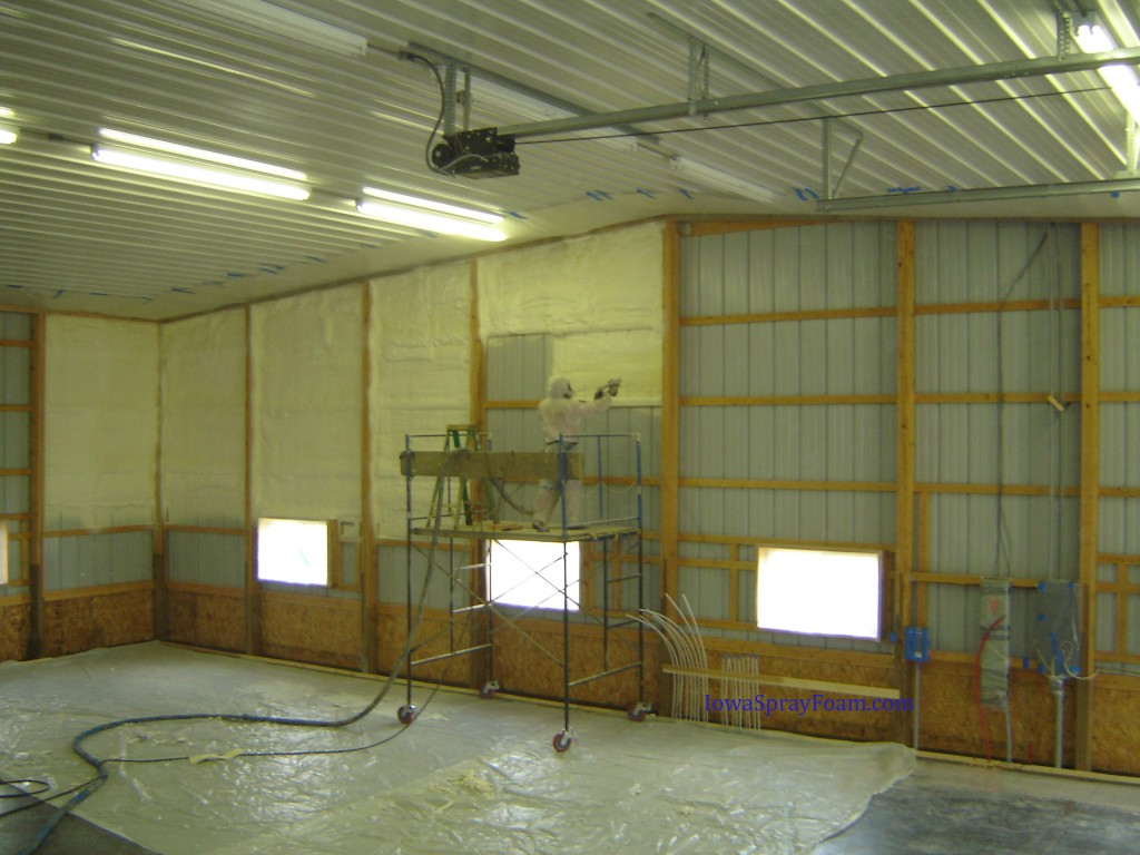 Insulating Your Metal Buildings Spray Foam Is The Answer