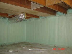 Crawl Space Insulation KC Spray Foam