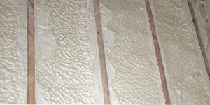 attic spray foam insulation summer