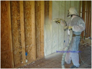 Spray foam insulation for buildings in Kansas City