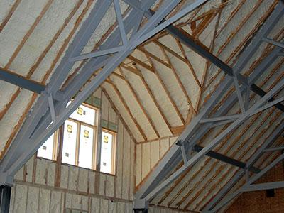 Attic And Ceiling Foam Insulation Contractors