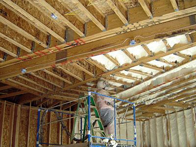Garage Spray Foam Insulation Services For Your Home